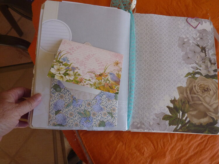 Bride  wedding journal pages