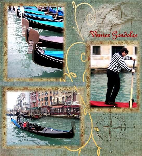 Venice Gondolas  digital lo