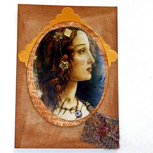 Botticelli Beauty art card