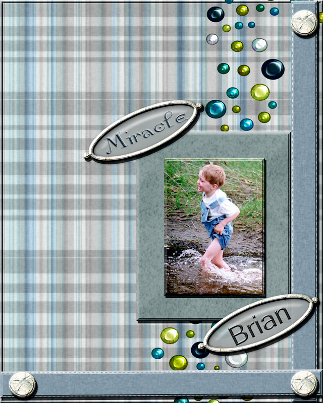 Brian is a miracle digital layout