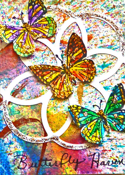 Butterfly Haven art card