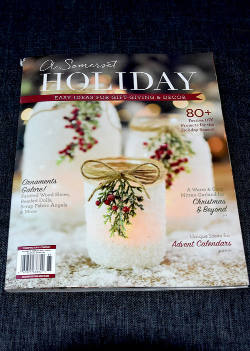 happy dance; Somerset Holiday magazine published 2 of my atcs