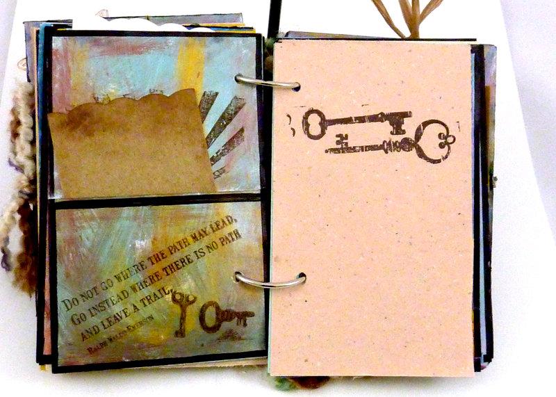 Steampunk Spirit art journal  pages 2