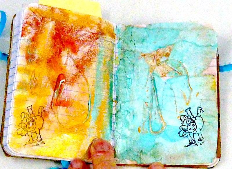 steampunk art journal inside feature