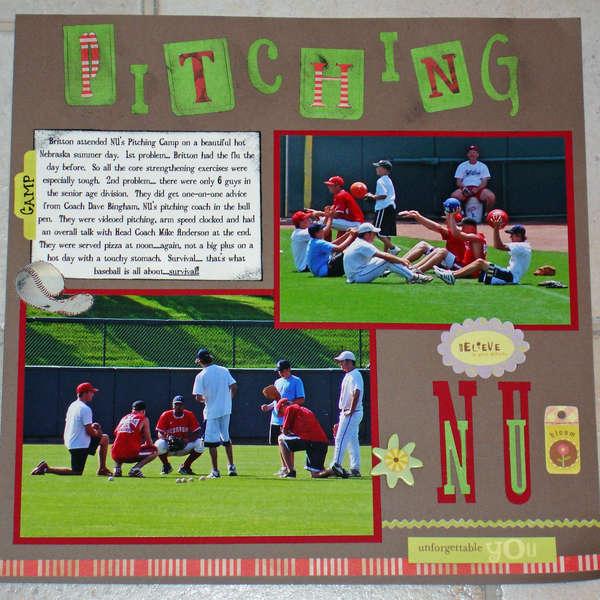 Pitching Camp @ NU