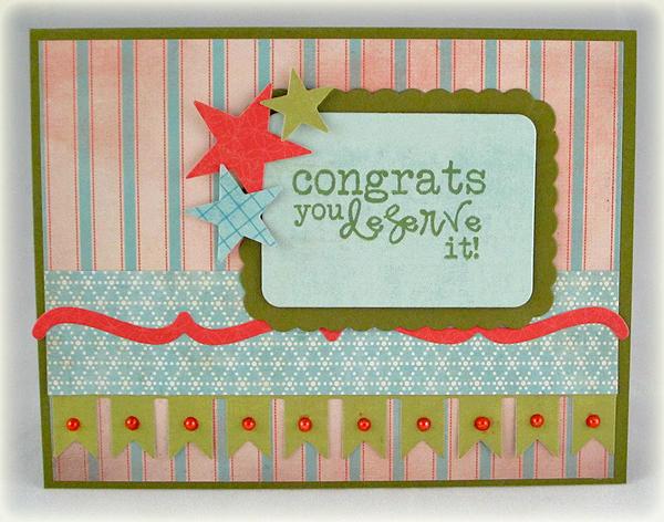 Congrats Deserved card