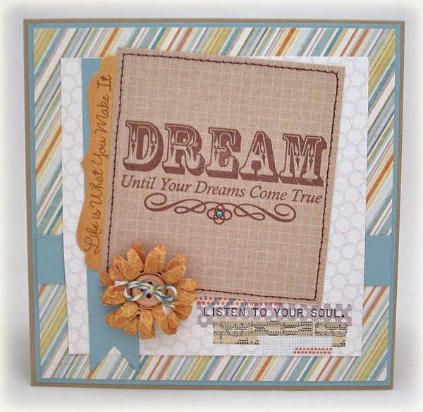 Dream for MFT Guest Designer challenge