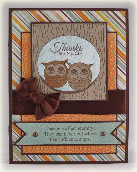 Owl Thanks So Much for Teacher Appreciation Day
