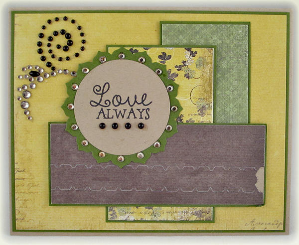 Love Always zipper card