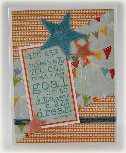 Dream a New Dream card