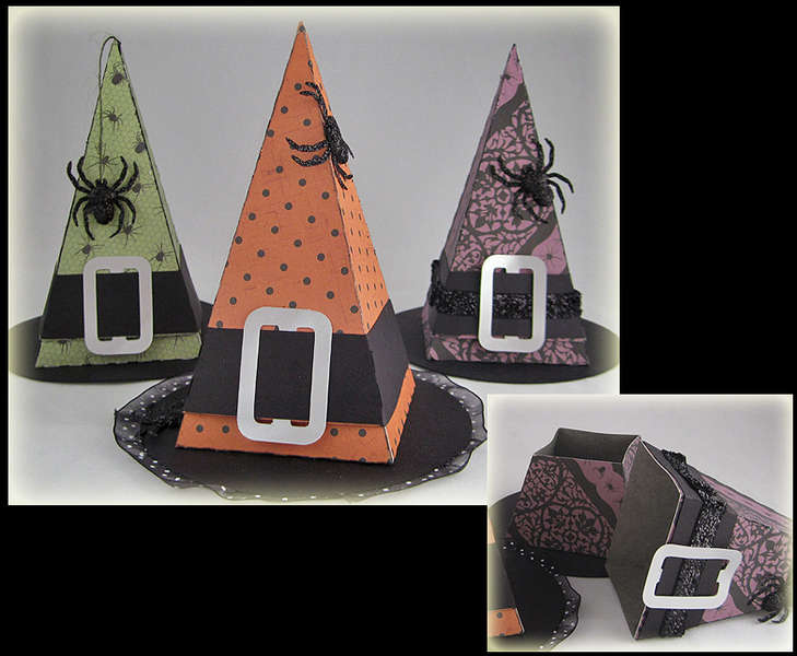 Witches Hat Treat Boxes