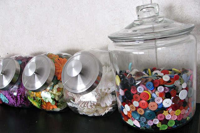 My New Embellie Jars!