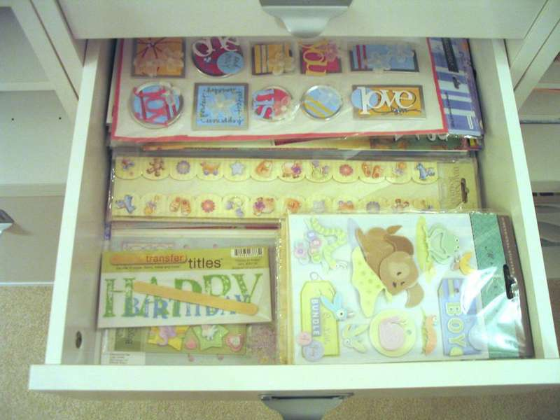 3D, Borders, stickers, etc drawer