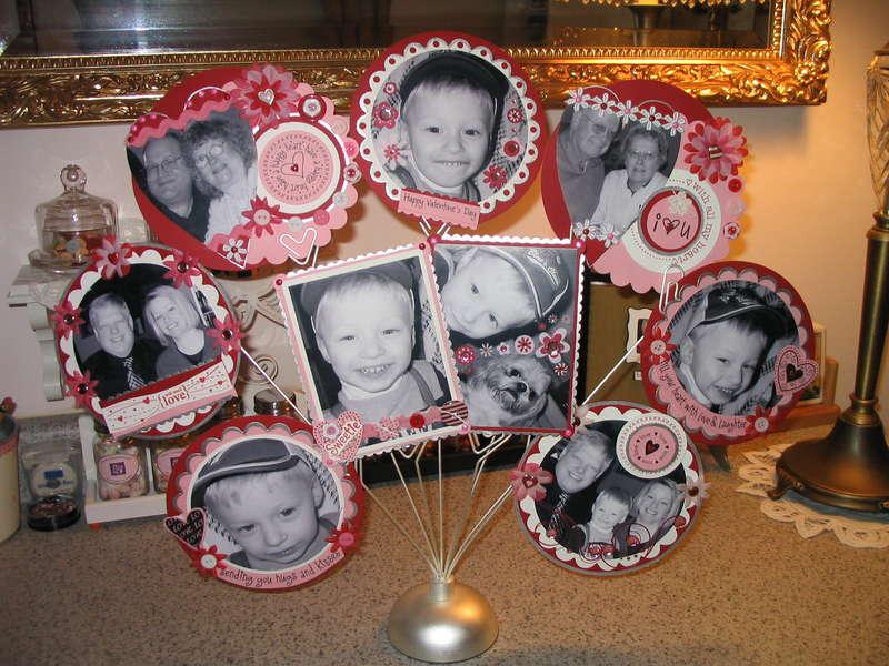 Valentine Photo Display