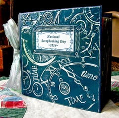 6x6 National Scrapbooking Day 2014 Mini Album