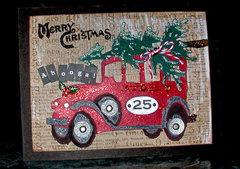 Ahooga! Christmas card