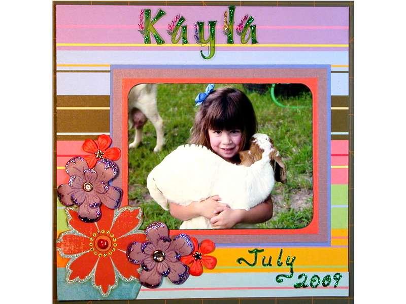Kayla's Summer (title pg)