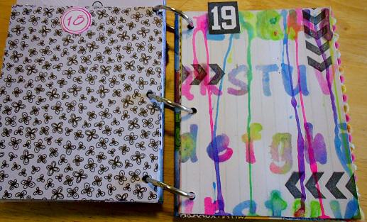 December Daily pages