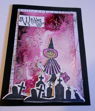 witching hour card