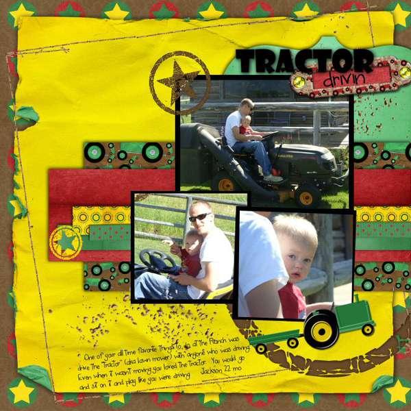 Tractor Drivin