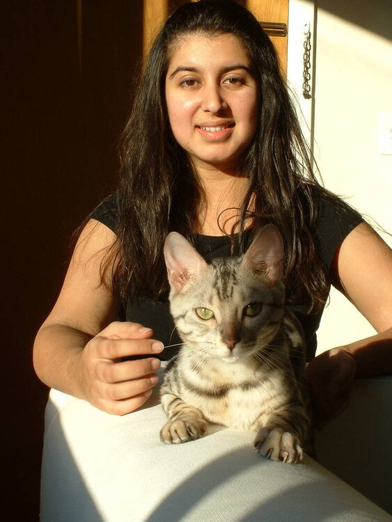 Me and my Bengal :)