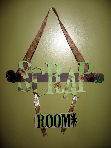 Scraproom Sign