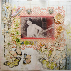 ~ Scraps of Elegance ~ Bling and Butterfly Challenge