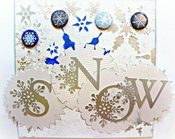 Stuck On U Sketches - Die Cut DT - Snowflake Challenge