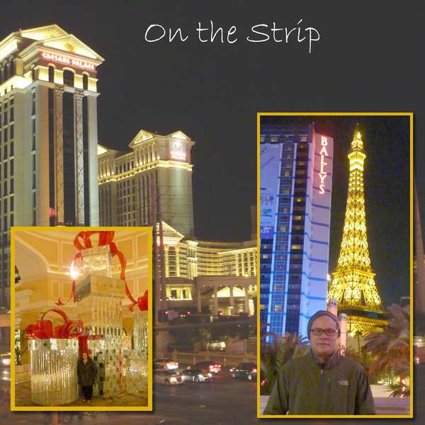 on the strip