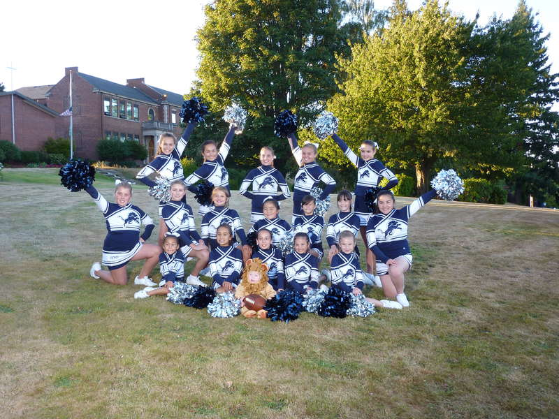 Lions Cheer 2012