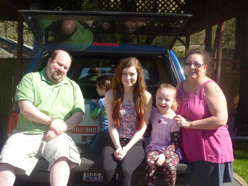 Dave Gilkey, Bethany, Jamie and Lori Gilkey