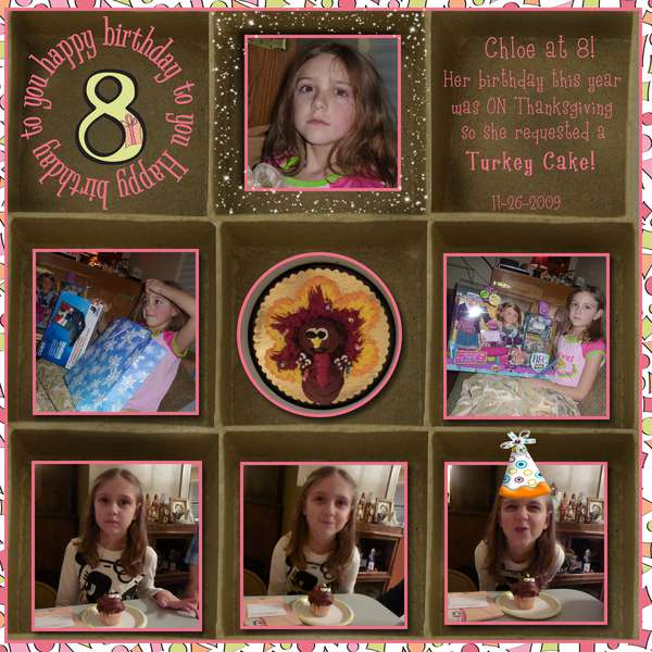 Chloe is 8