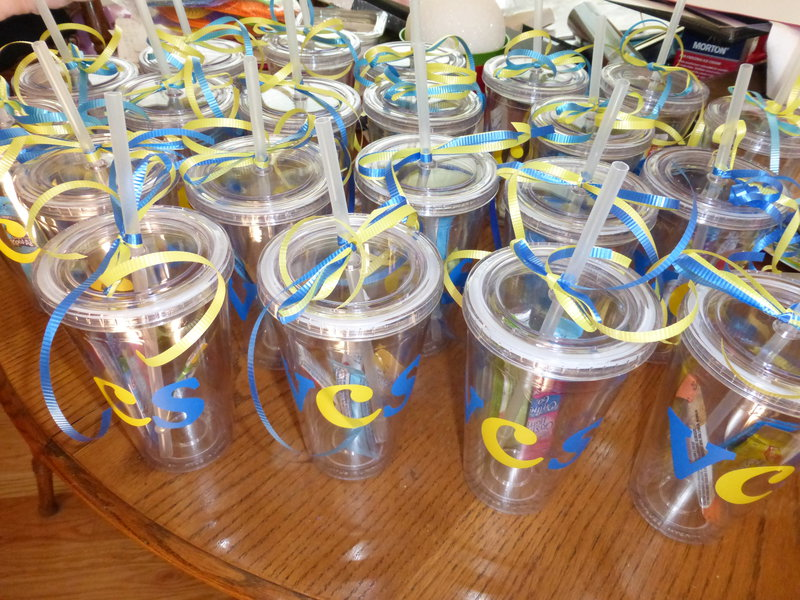 Tumblers for the teachers
