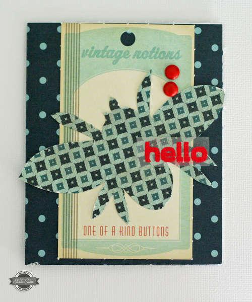 hello card-Studio Calico Summer of '69 Kit