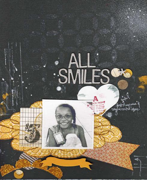 All Smiles| Studio Calico Kit (Handmade)
