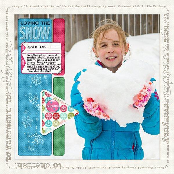 Loving the Snow