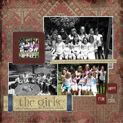 < the girls >