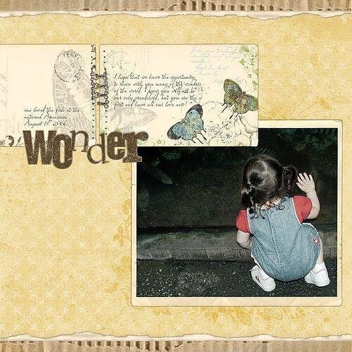 < wonder >
