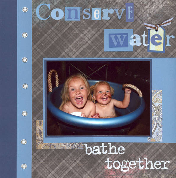 Conserve Water...