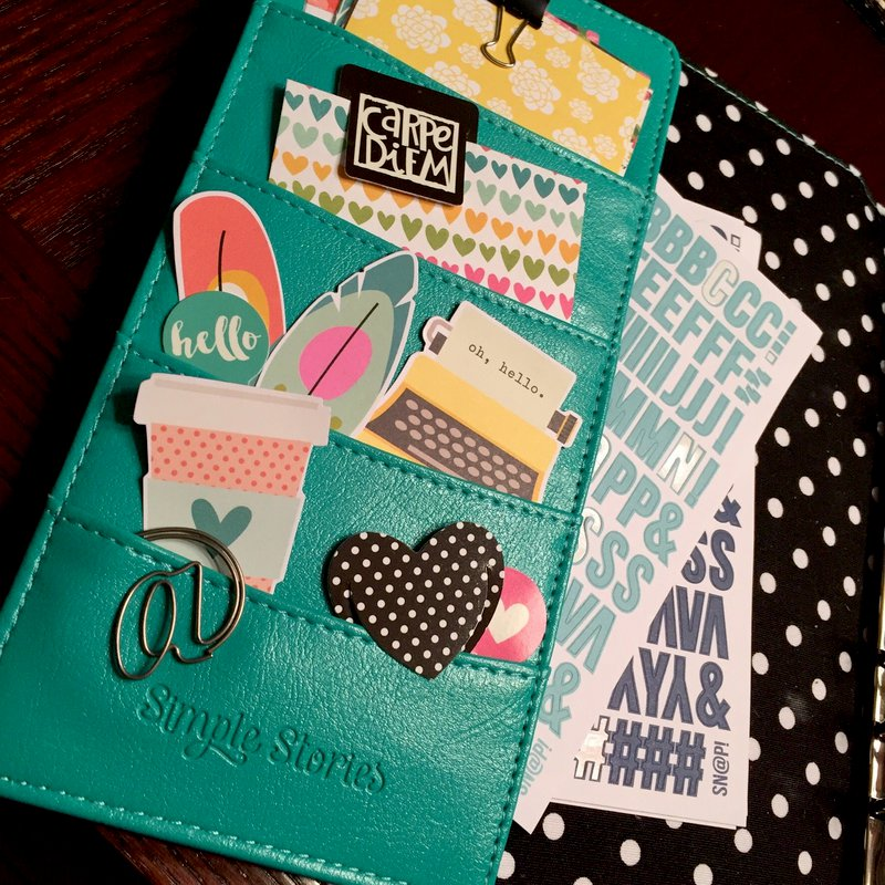 Simple Stories Carpe Diem Planner