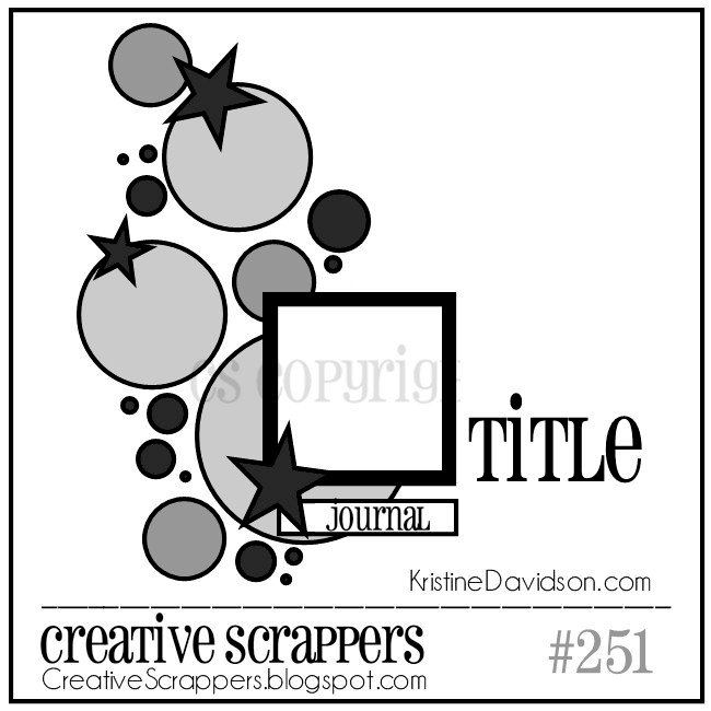 Creative Scrappers Sketch 251