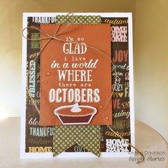 Octobers - Simple Stories