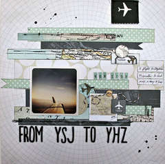 From YSJ to YHZ