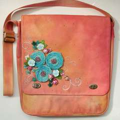 Altered Canvas Bag