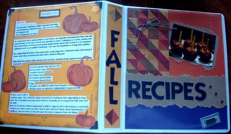 Cookbook: Fall