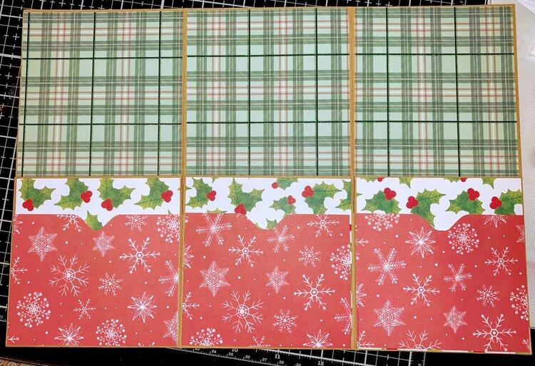 Christmas Tag Folder inside