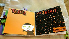 Smaller  Halloween  Paper  bag  album