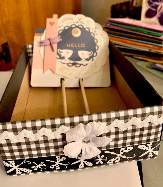 DIY Memorydex box