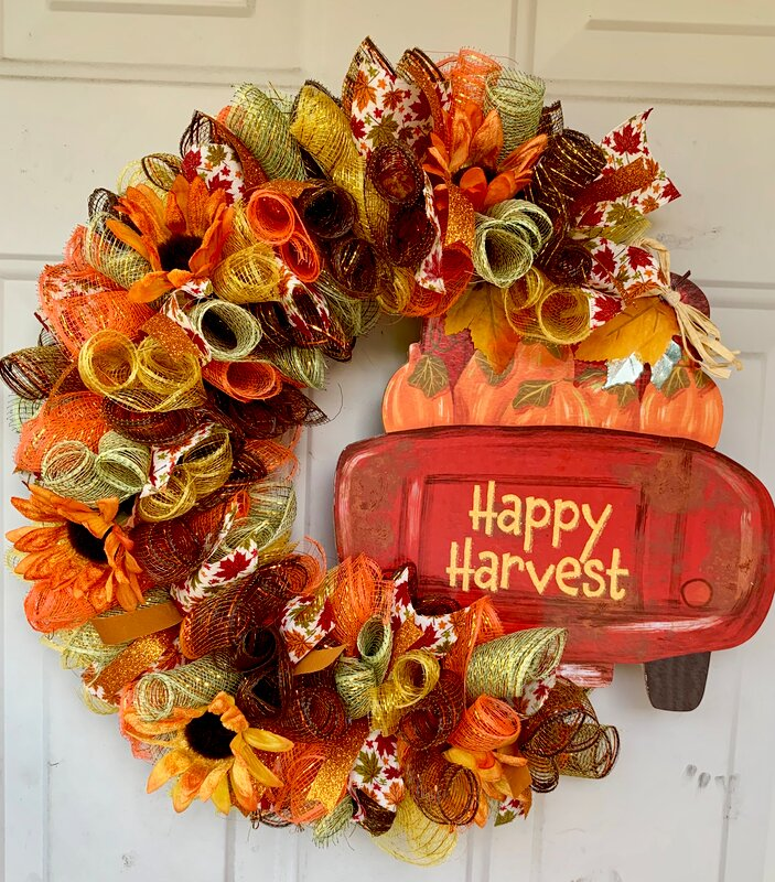 1st Fall wreath