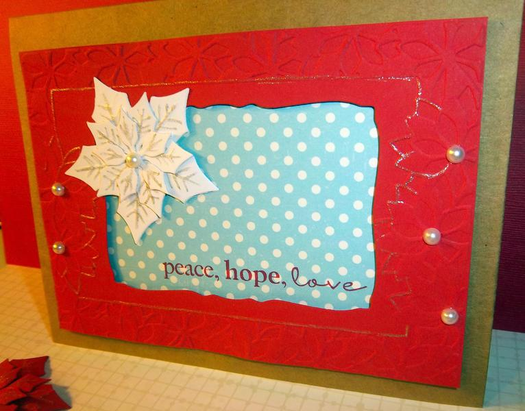Peace, hope, love